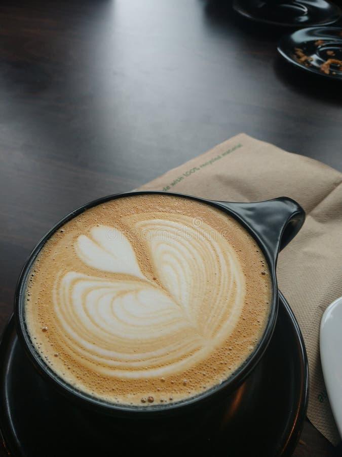 我的对咖啡的爱 库存照片