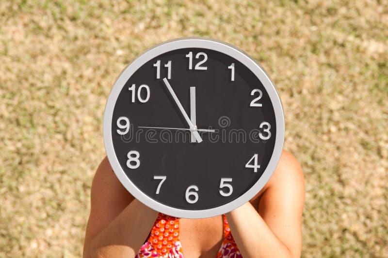 我的时间 库存照片