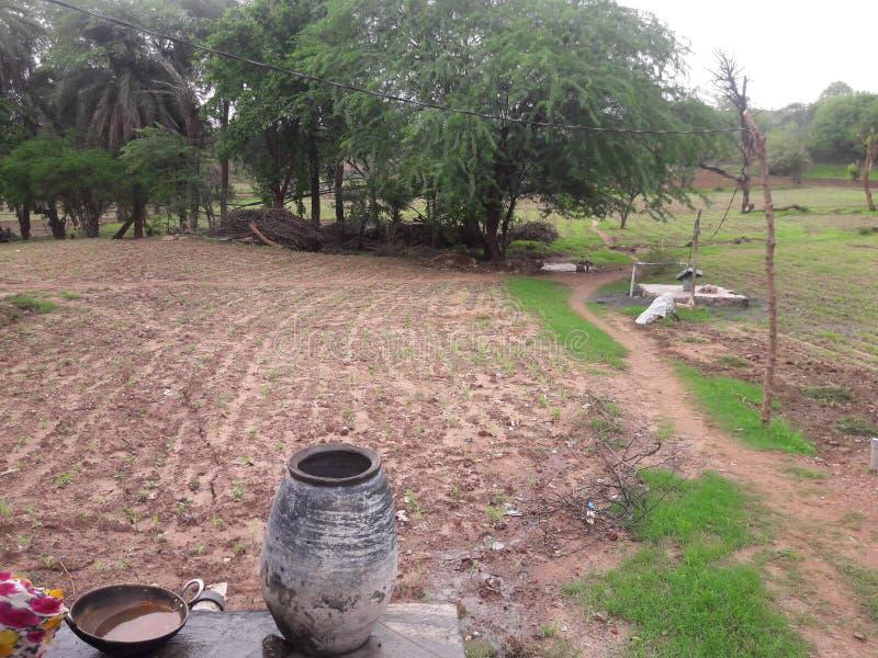 我的村庄 库存图片