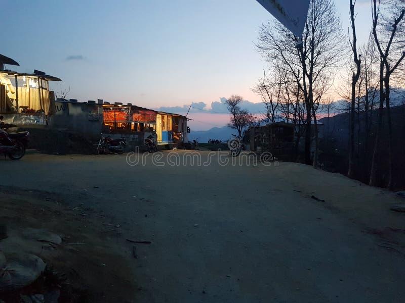 我的村庄 库存照片