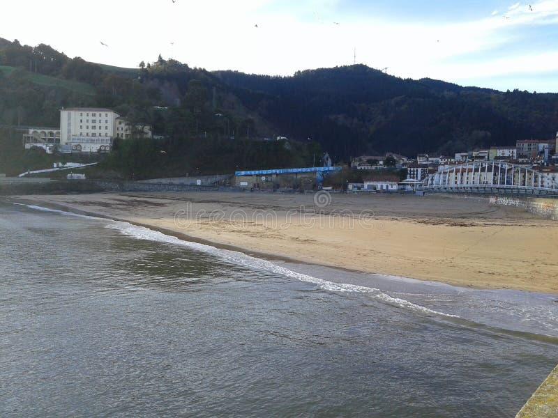 我的海滩 免版税库存照片