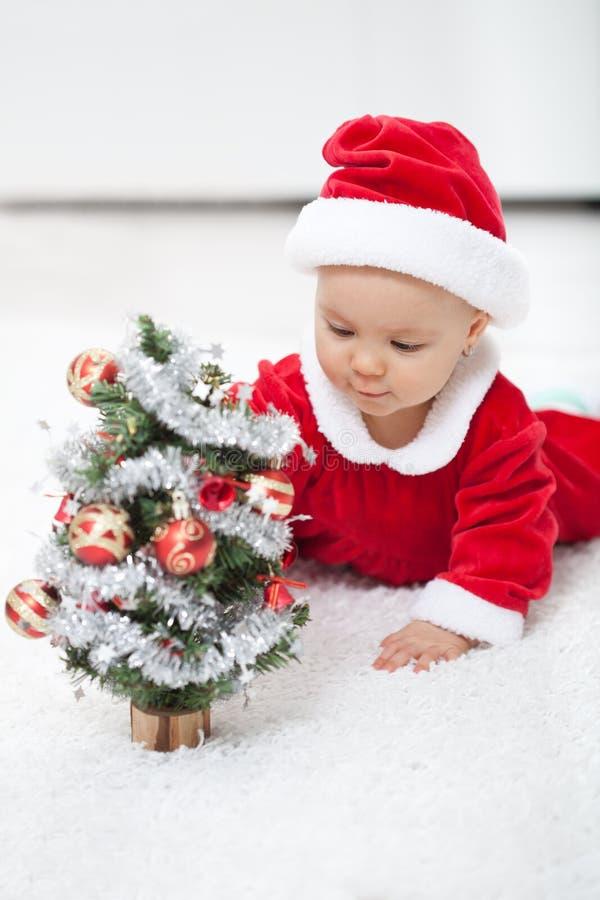 我的第一圣诞节 图库摄影
