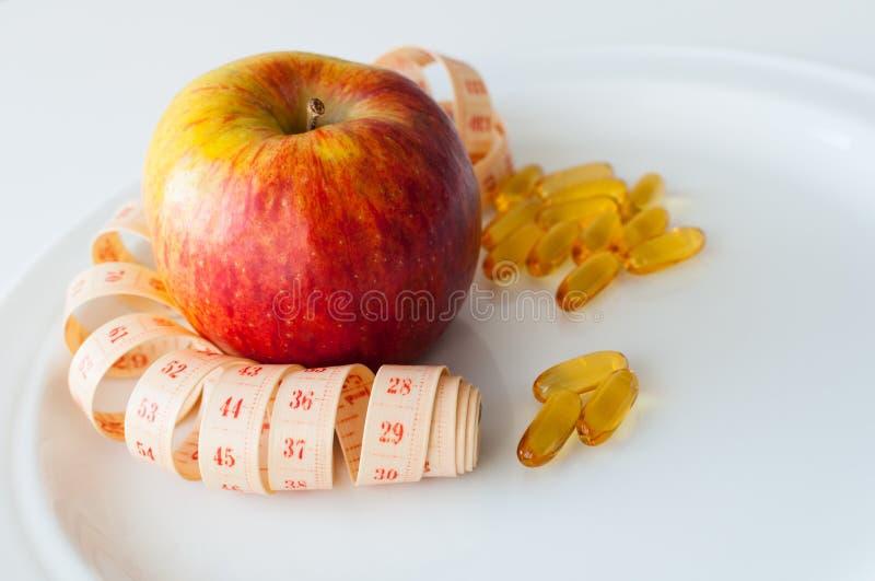 我的饮食 免版税库存照片
