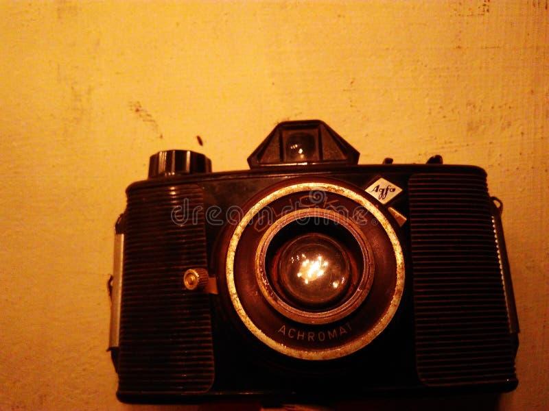 我的dad& x27;s照相机25 y/o 免版税库存照片