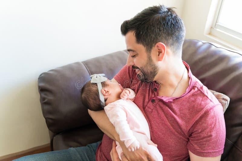 我美丽的女婴 免版税图库摄影