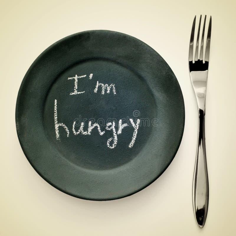我饿 免版税库存照片