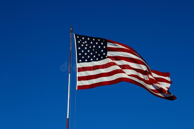 我们旗子有风1 免版税图库摄影