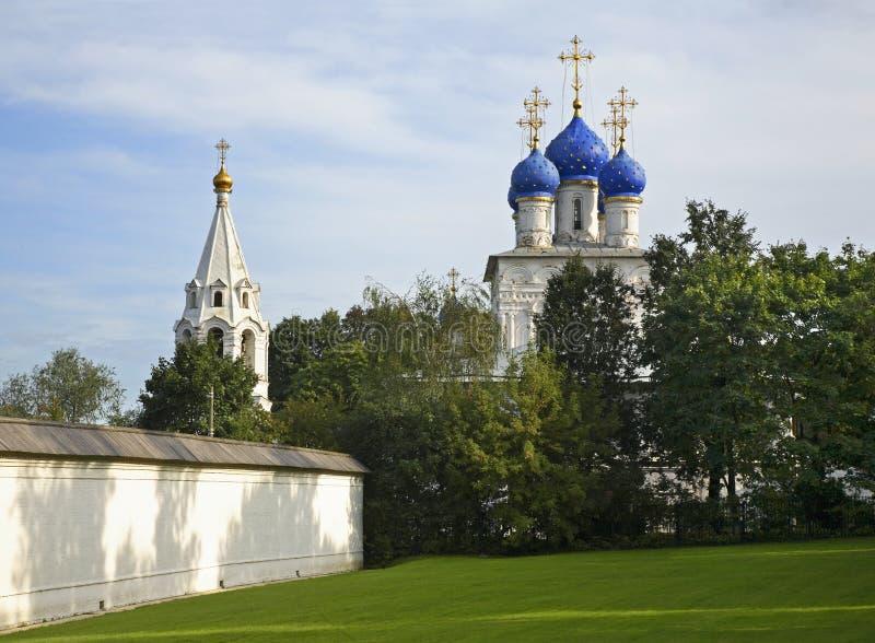 我们的喀山的夫人教会在Kolomenskoye 莫斯科 俄国 免版税库存照片