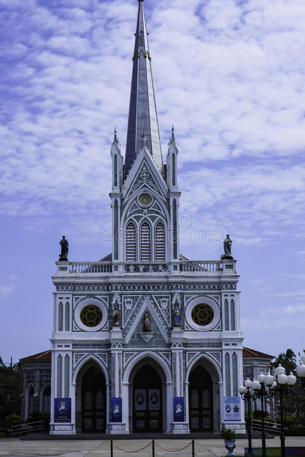 我们的夫人Cathedral诞生  免版税图库摄影