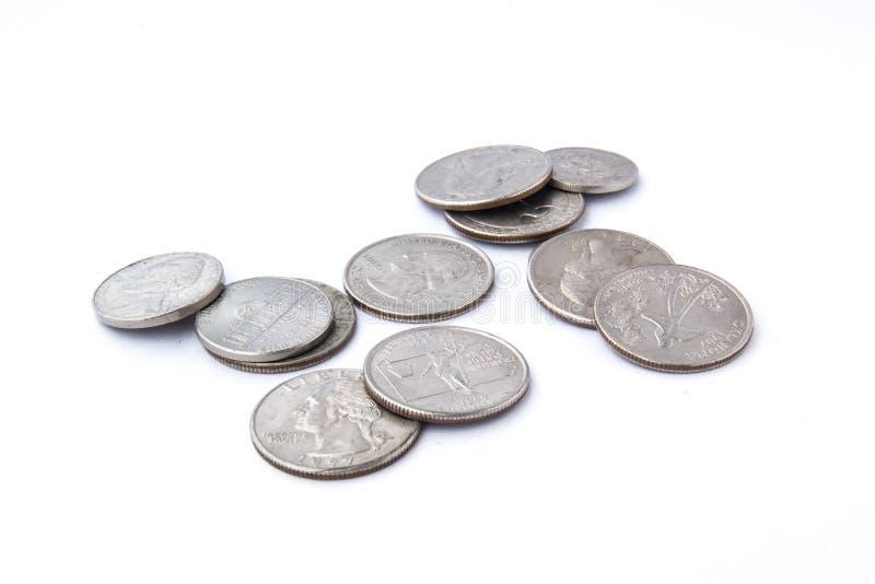 我们硬币 图库摄影