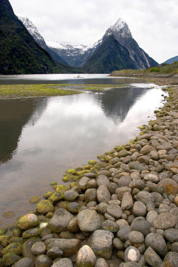 我Milford Sound 图库摄影