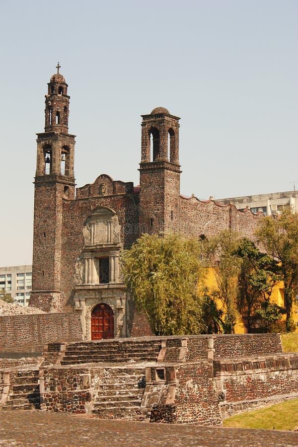 我tlatelolco 免版税图库摄影