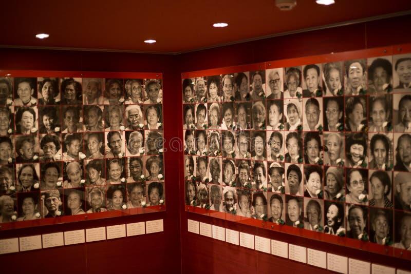 战争和和平的妇女的活跃博物馆 免版税库存照片