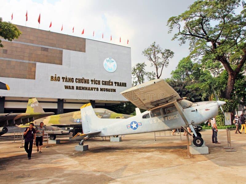 战争残余博物馆 免版税库存照片