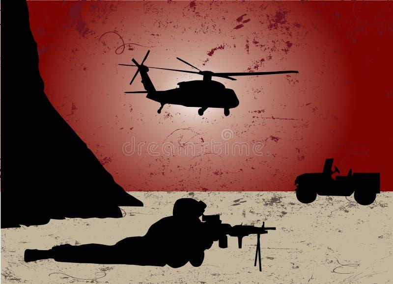 战争 向量例证