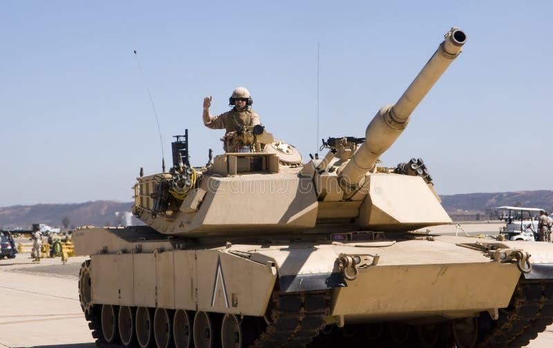 战士坦克 库存图片