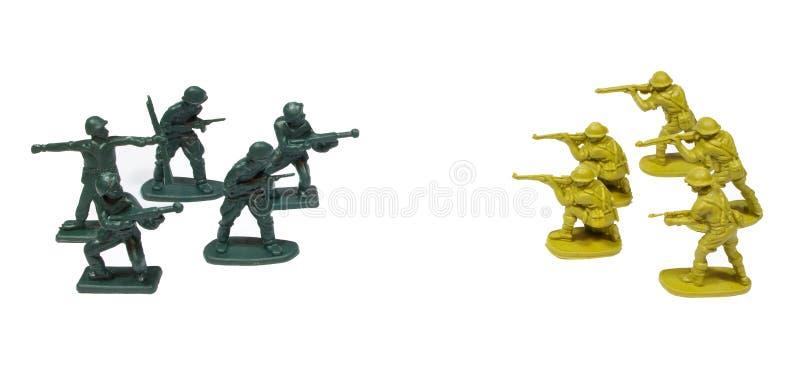 战士玩具 库存图片
