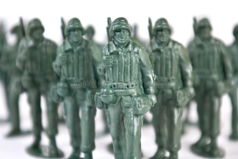 战士玩具 免版税库存图片