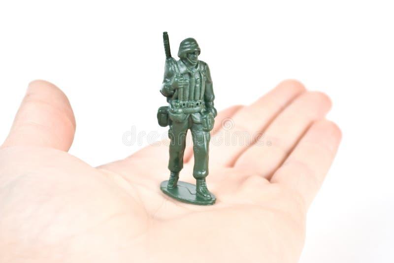 战士玩具 免版税图库摄影