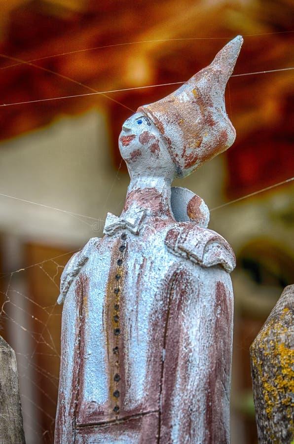 战士的陶瓷玩偶 免版税库存图片