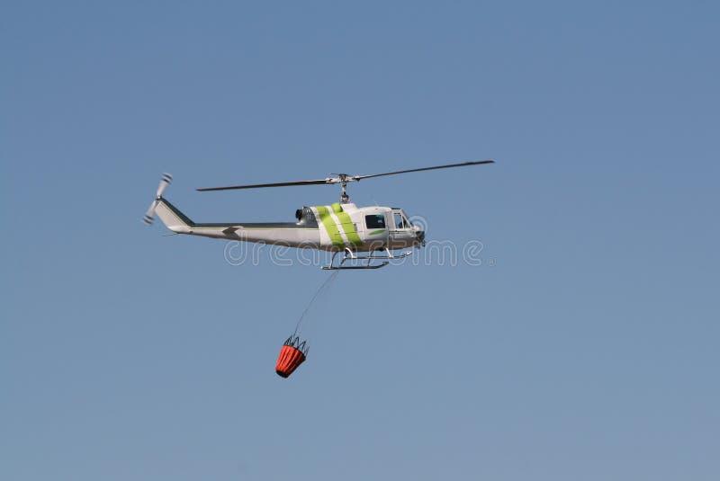 战斗火直升机 库存图片