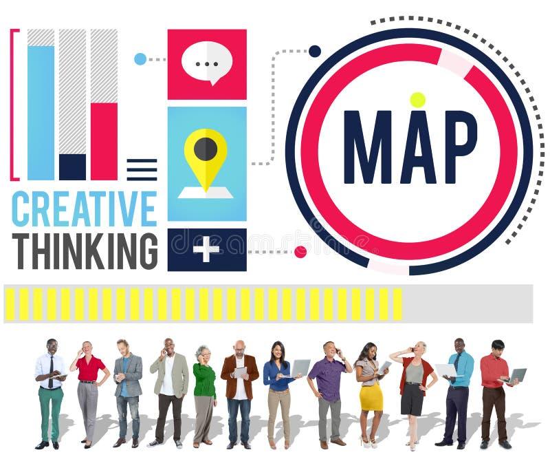 战略数据信息计划营销解答视觉概念 库存照片