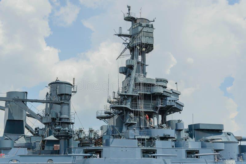 战舰得克萨斯 库存图片