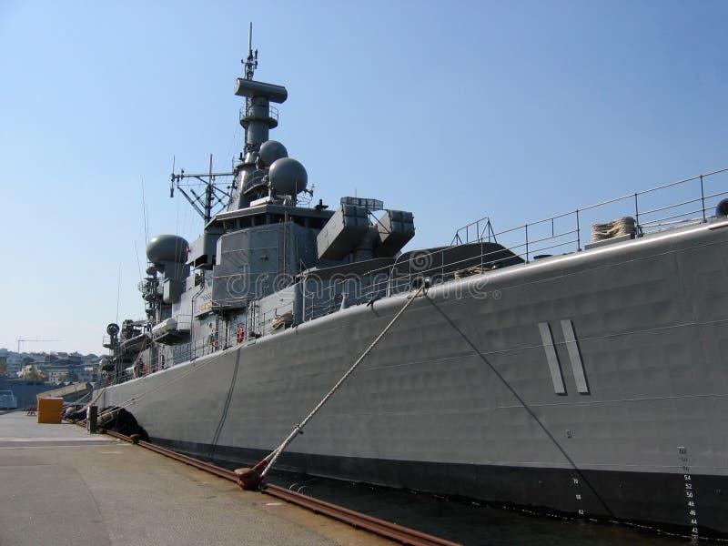 战舰 库存照片