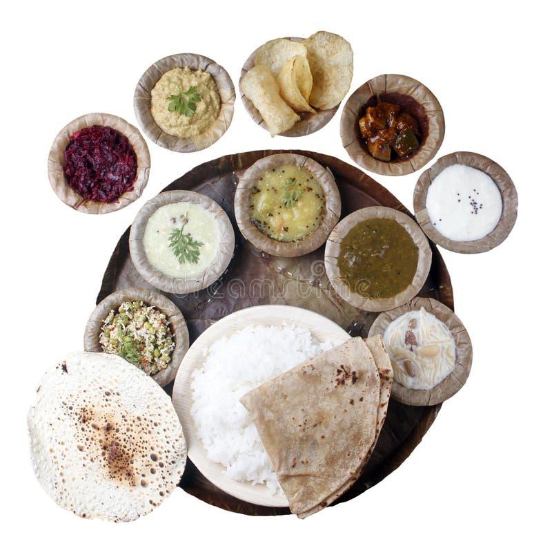 截去的印第安屏蔽饭食南部 免版税库存照片