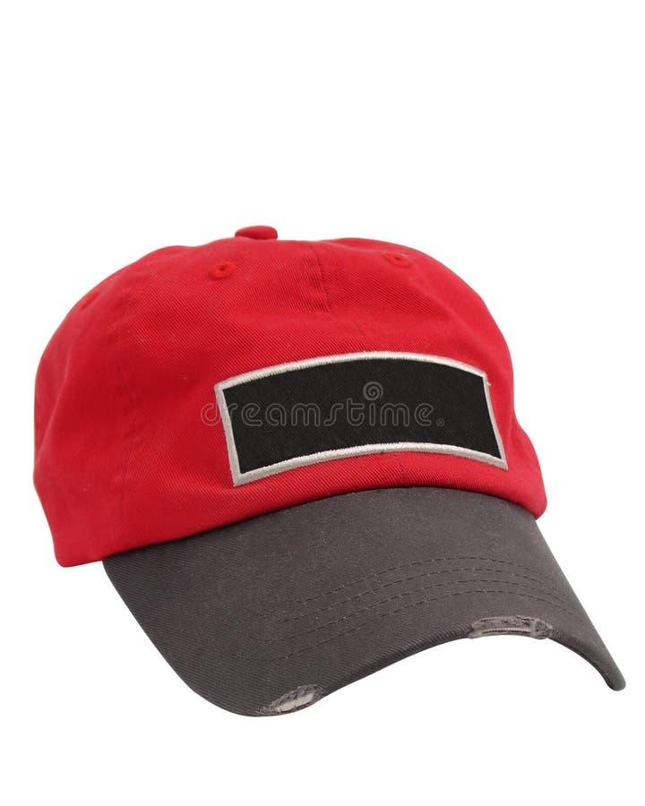 截去pathed的帽子 免版税库存图片