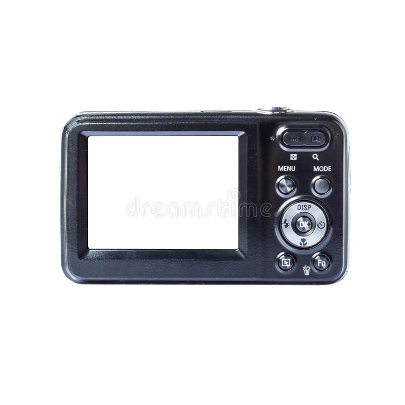 截去紧凑数字式容易的提取的黑色照相机包括了路径 库存图片