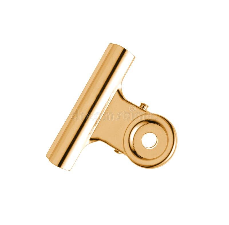 截去金子被镀的银色关系 图库摄影