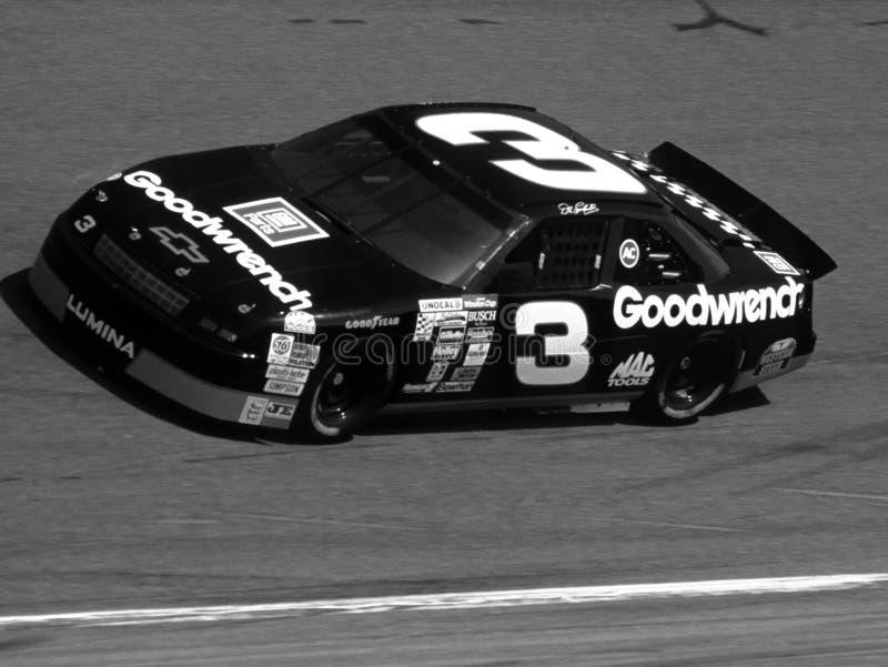 戴尔Earnhardt NASCAR司机 库存图片