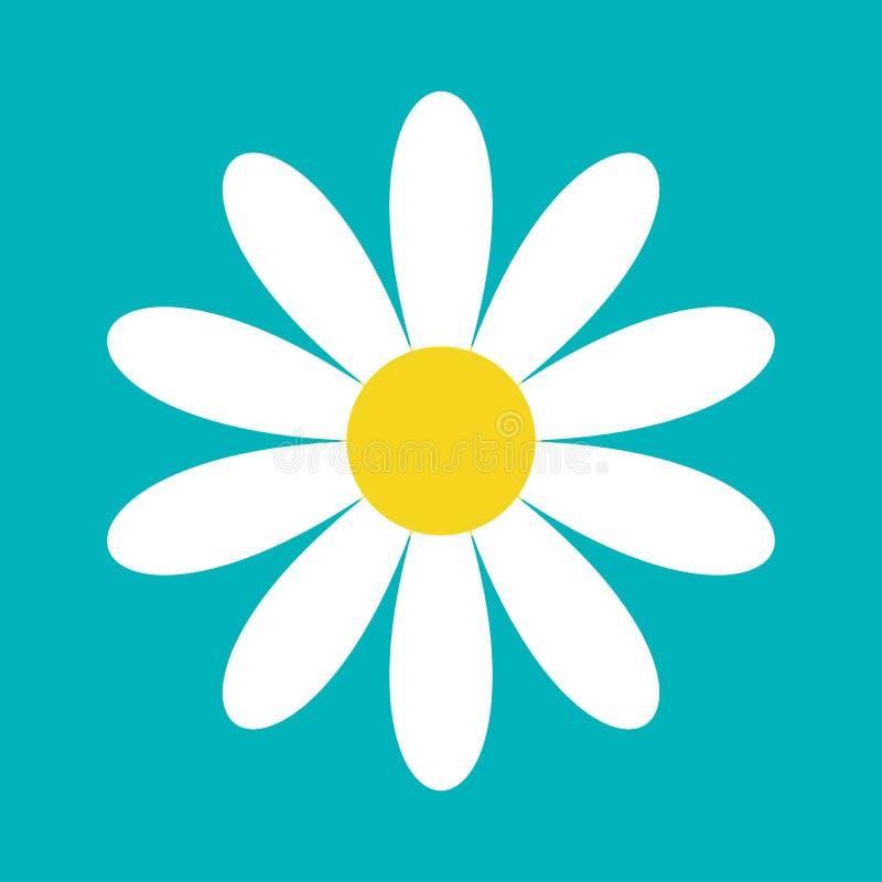 戴西春黄菊 逗人喜爱的花植物收藏 背景看板卡grunge爱纸张 春黄菊象生长概念 平的设计 绿色 皇族释放例证
