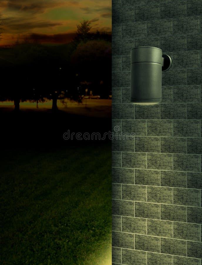 户外用结节照明的产品摄影应用 图库摄影