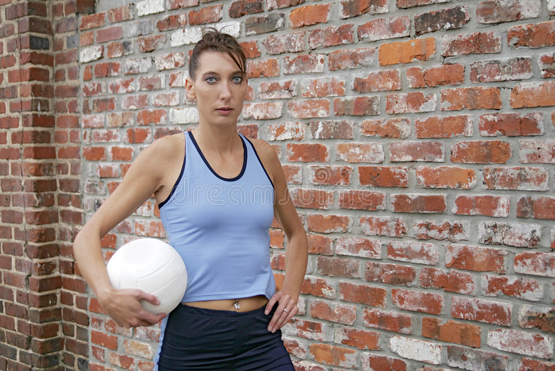 户外运动员妇女 库存图片