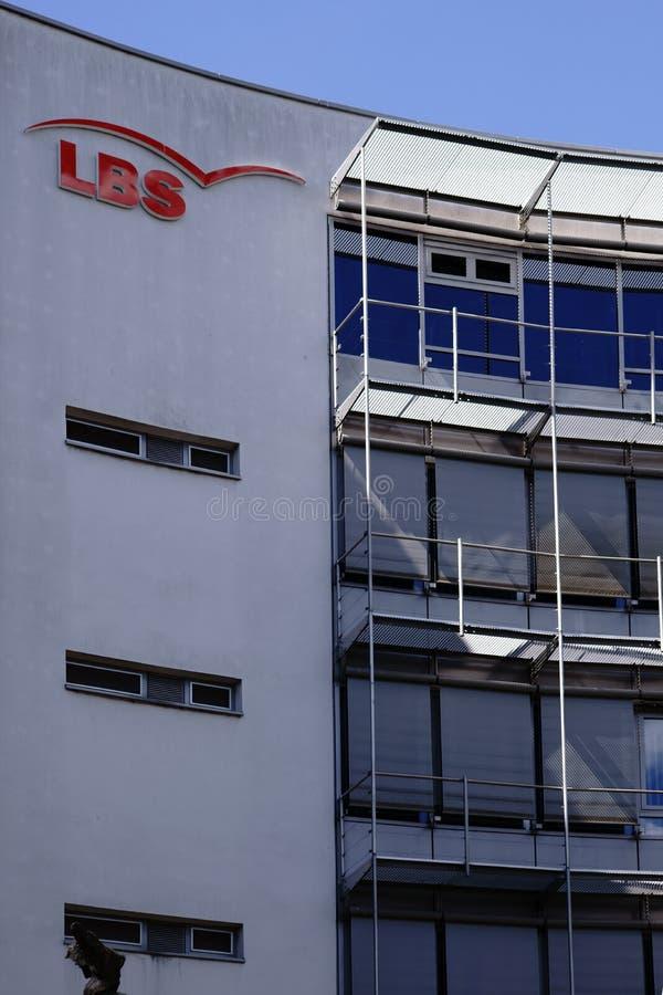 建房互助协会LBS美因法 免版税库存照片