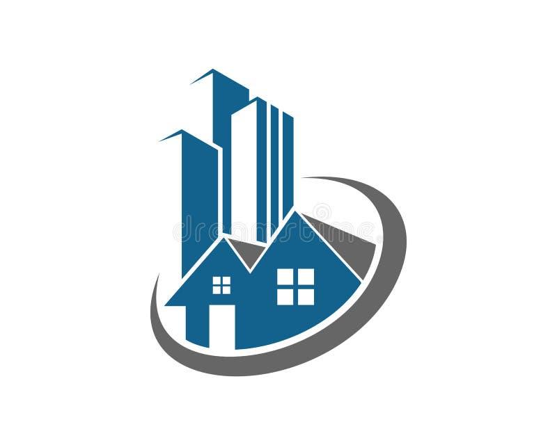 房地产,物产和建筑商标为企业公司标志设计. 拱道, 顾问.图片