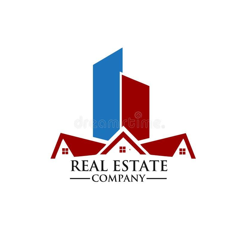 房地产产权公司商标 免版税库存图片
