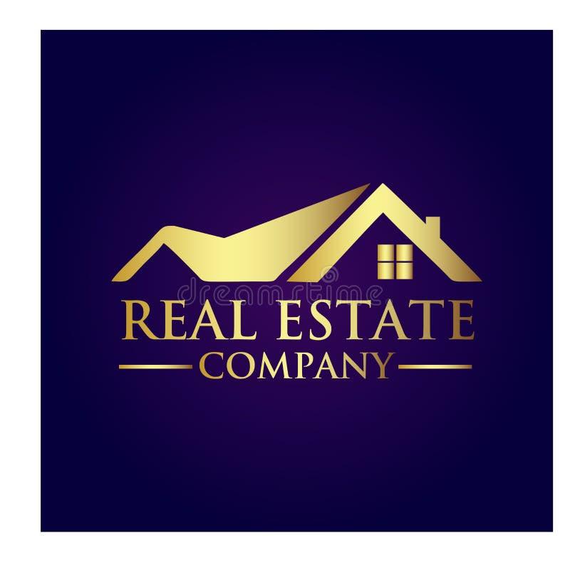 房地产产权公司商标 免版税图库摄影