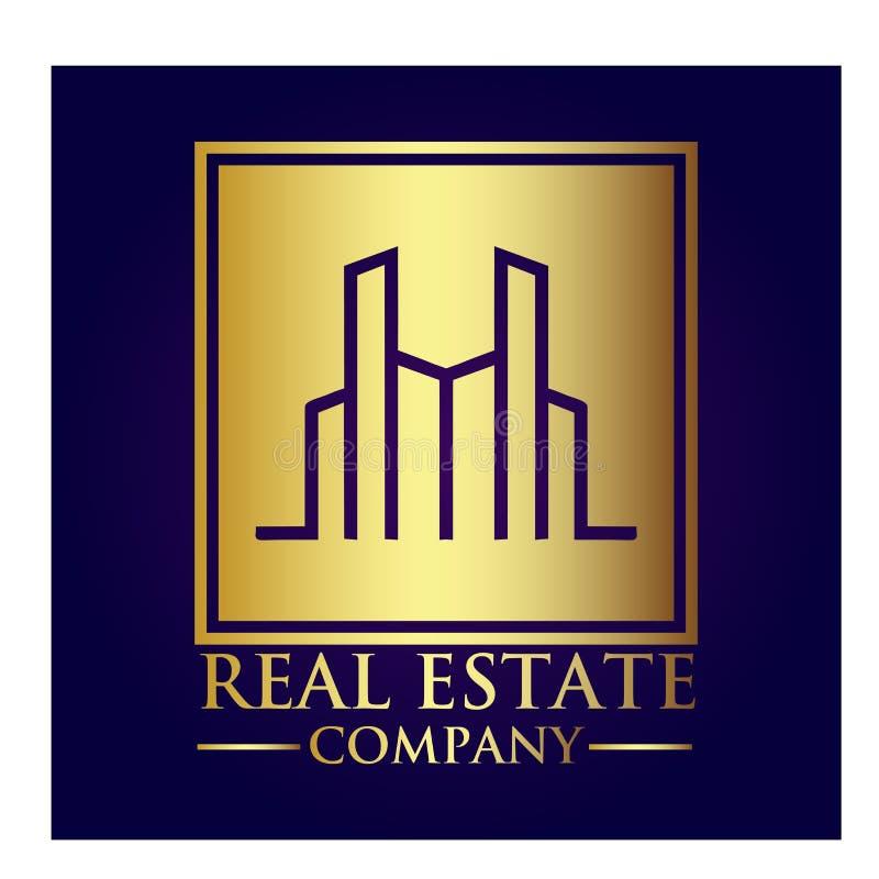 房地产产权公司商标 库存照片
