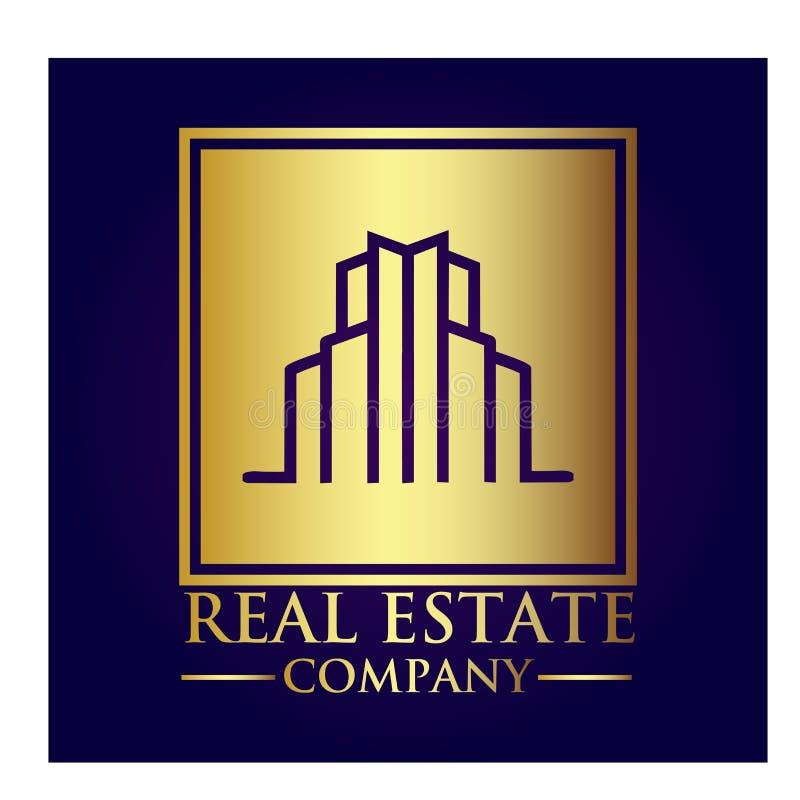 房地产产权公司商标 图库摄影