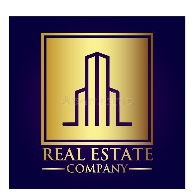房地产产权公司商标 库存图片