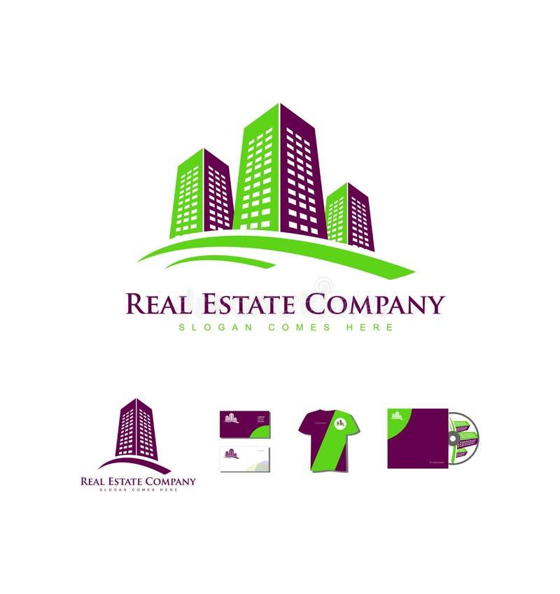 Download 房地产大厦摩天大楼商标象 向量例证. 插画 包括有 模板, 要素, 例证, 紫色, 公司, 标签, 实际 - 72361416