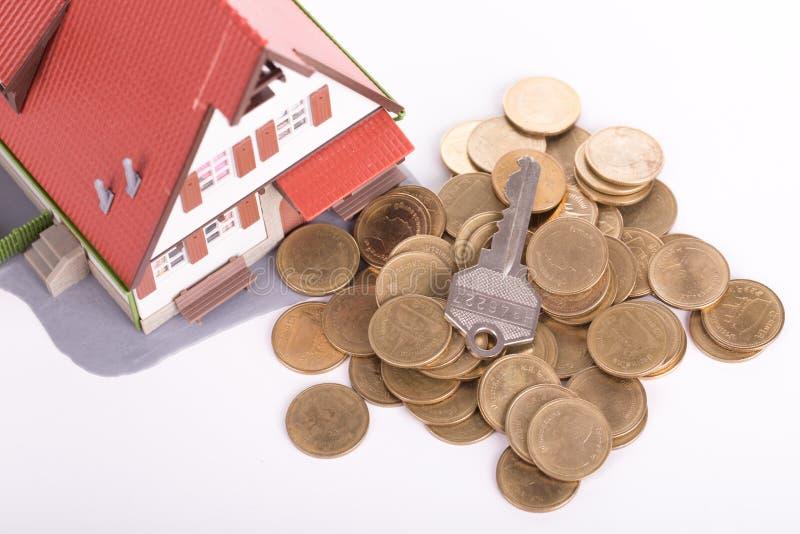 房地产房子 免版税库存图片