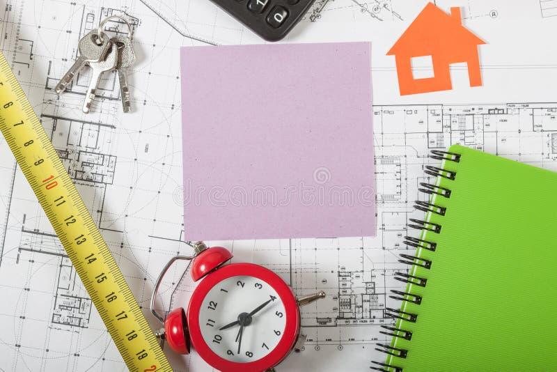 房地产概念背景 免版税库存图片