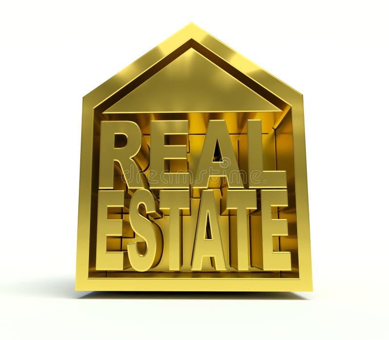 房地产 向量例证