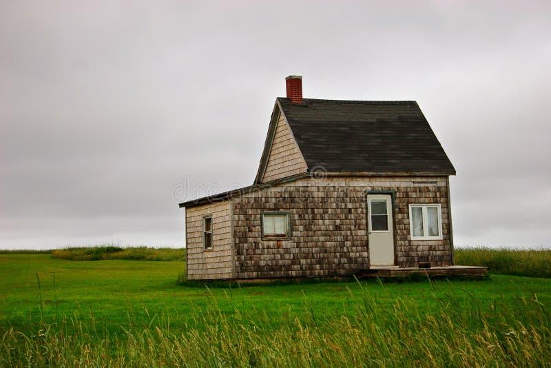 房子一点 免版税库存照片