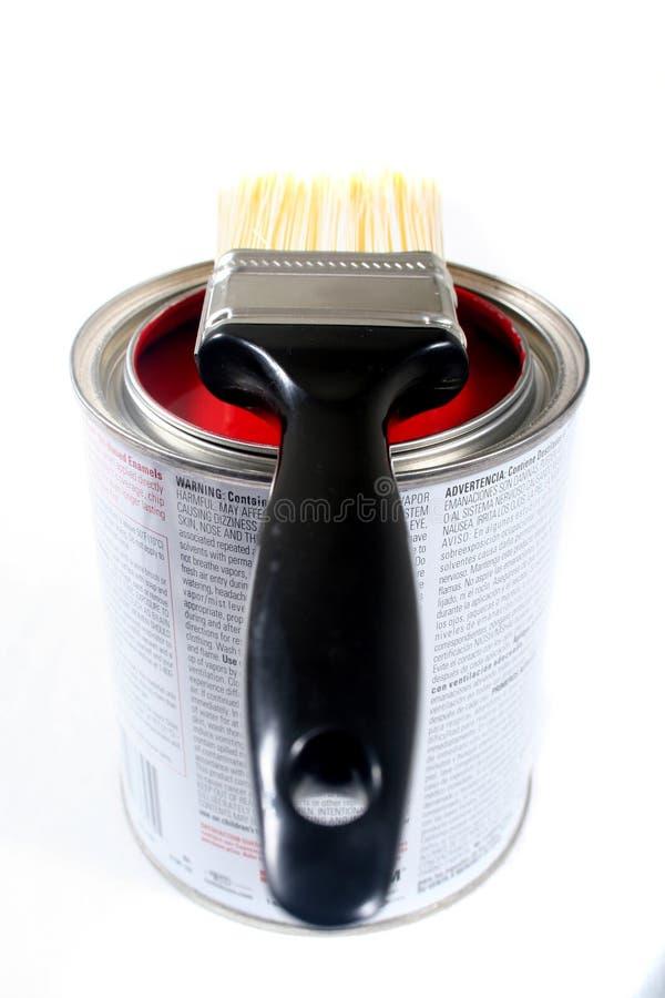 房子乳胶漆 免版税库存照片