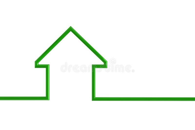 房子例证分级显示 皇族释放例证